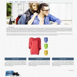 szablon na ebay odzież moda