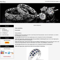 responsywny szablon ebay biżuteria
