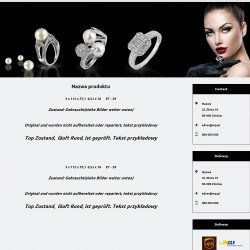 szablony ebay biżuteria